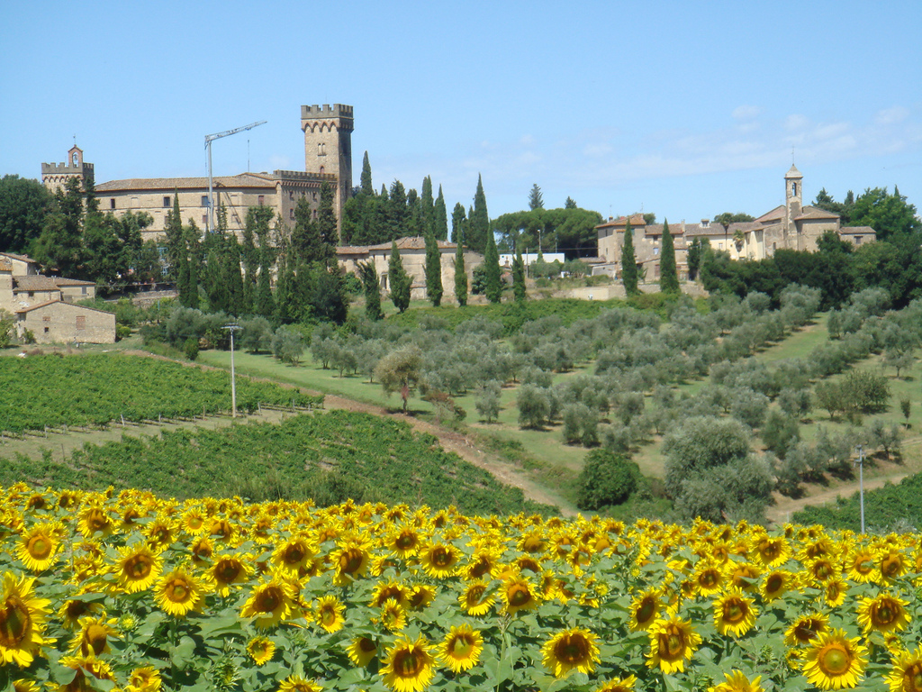 There are few luxury boltholes much better than a Tuscan villa ... photo by CC user letorri on flickr