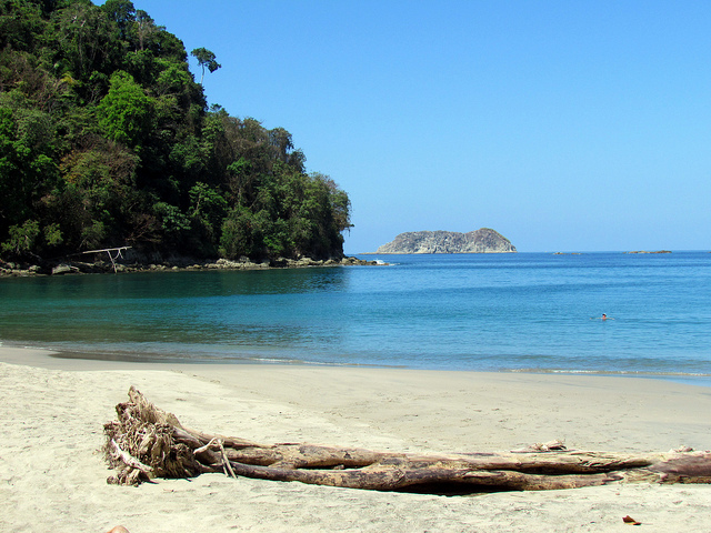 white sand beach, from flickr
