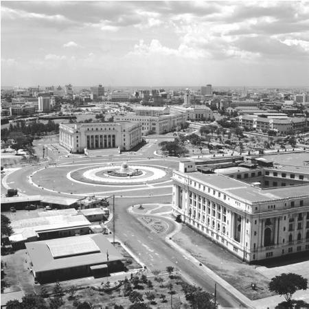 old picture of manila before war