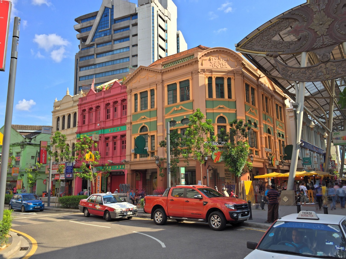 more colonial architecture in Kuala Lumpur, Malaysia