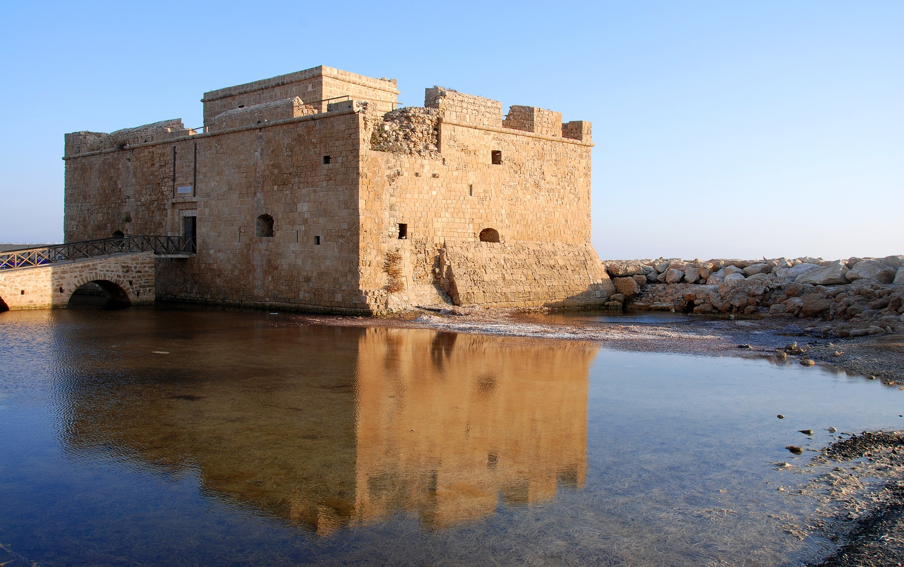 Its castle is one of the best reasons to visit Paphos