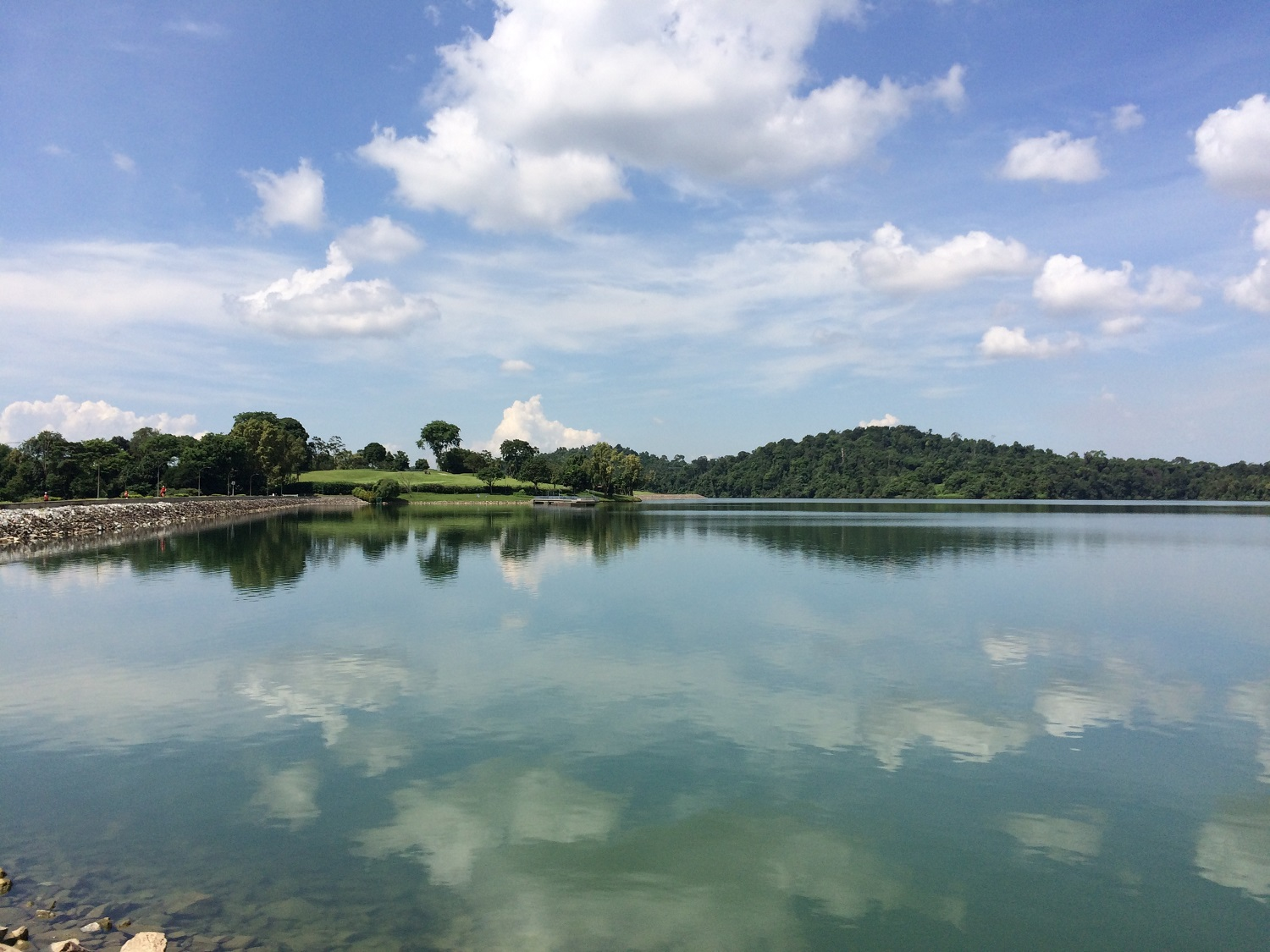 Pierce reservoir in Singapore