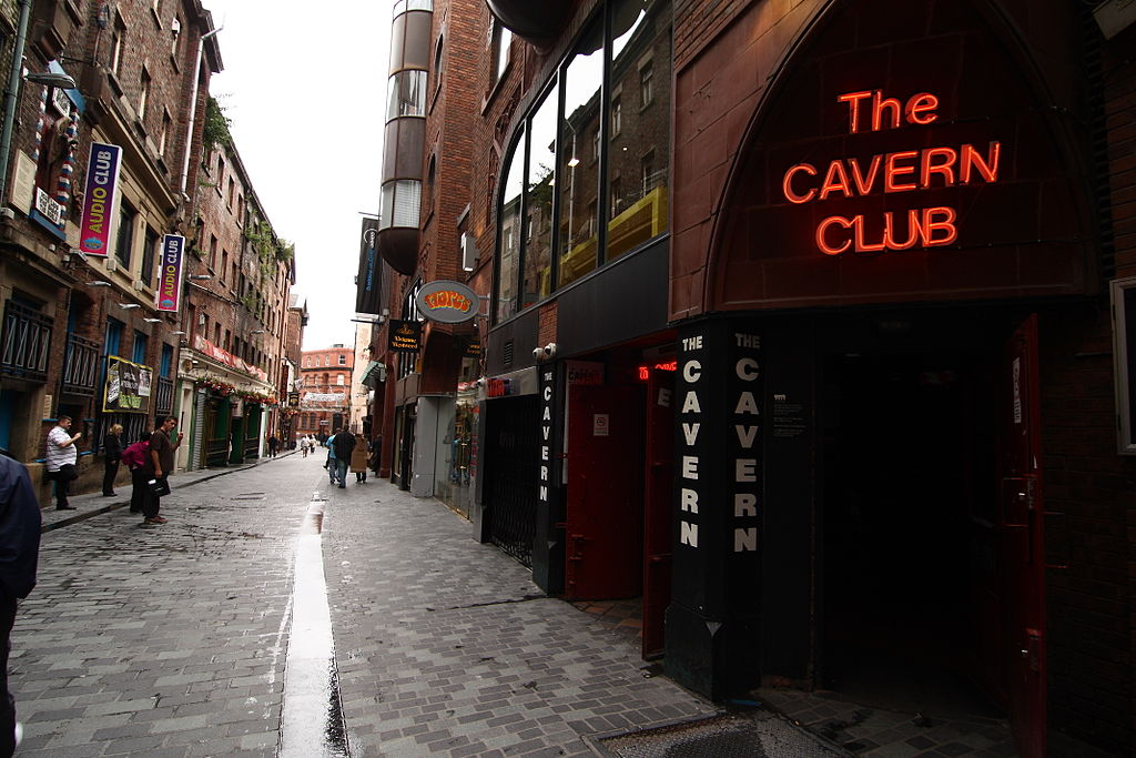 No Liverpool vacation is complete without a visit to the Cavern Club, birthplace of The Beatles ... photo by CC user spaztacular on Flickr