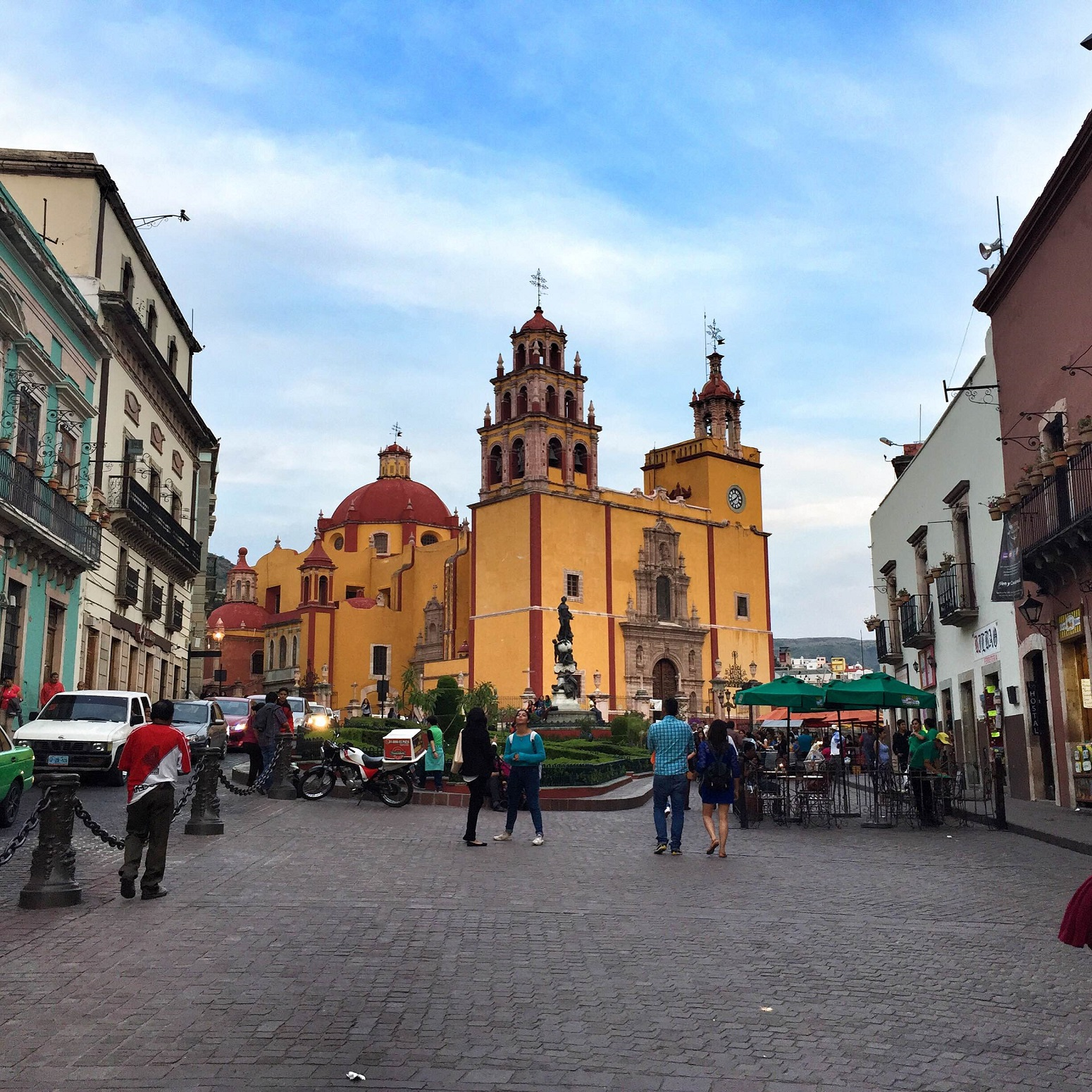 main cathedral of Guanajuato, Mexico