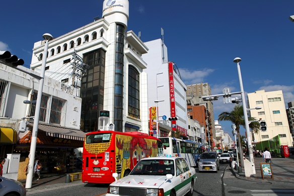 shopping in Naha City, Okinawa