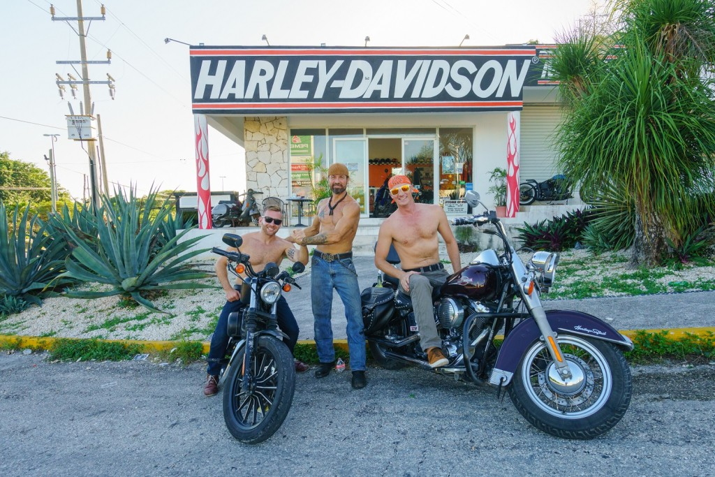HarleyAdventures motorcycle road trip in Mexico