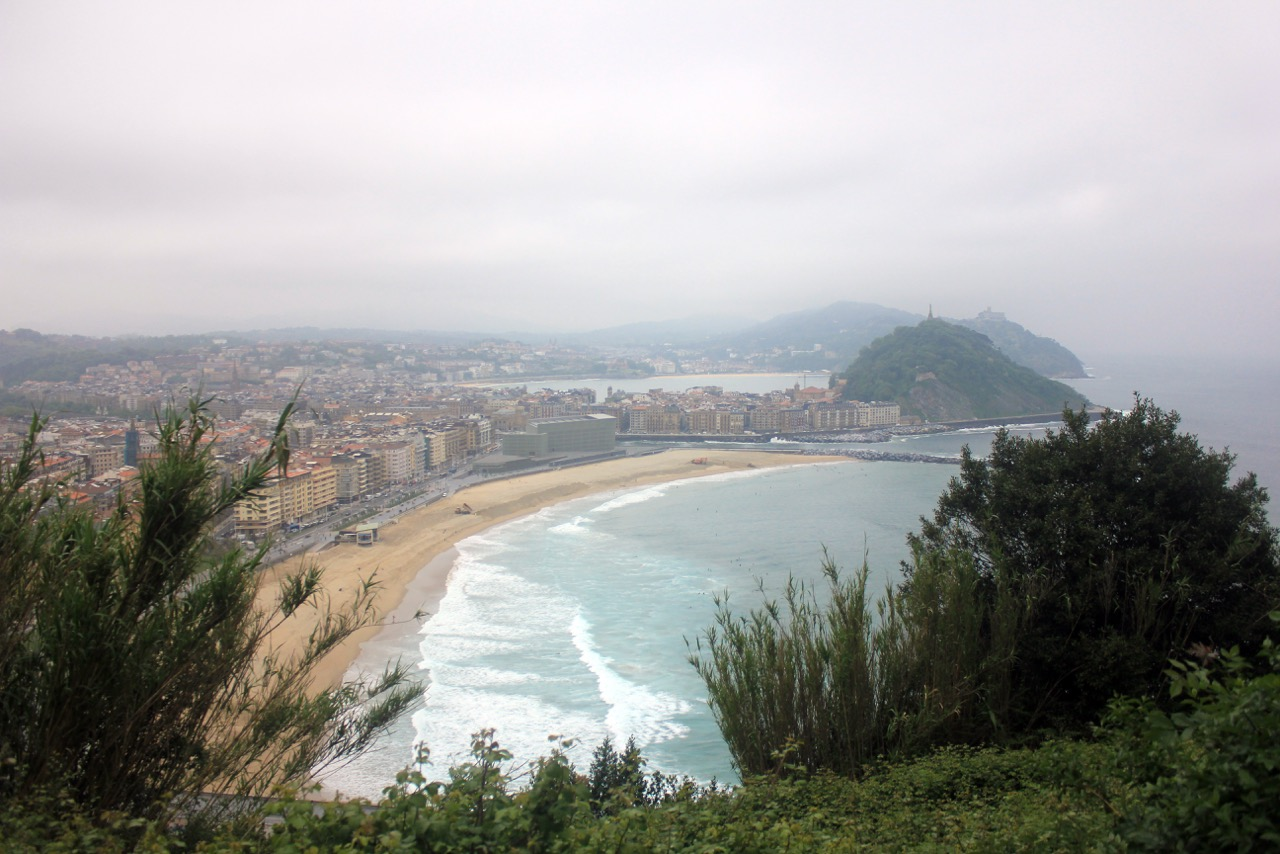 Ian Ord - San Sebastian - city view