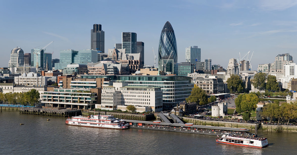 London is an obvious choice when it comes to The UK's most business-centric cities
