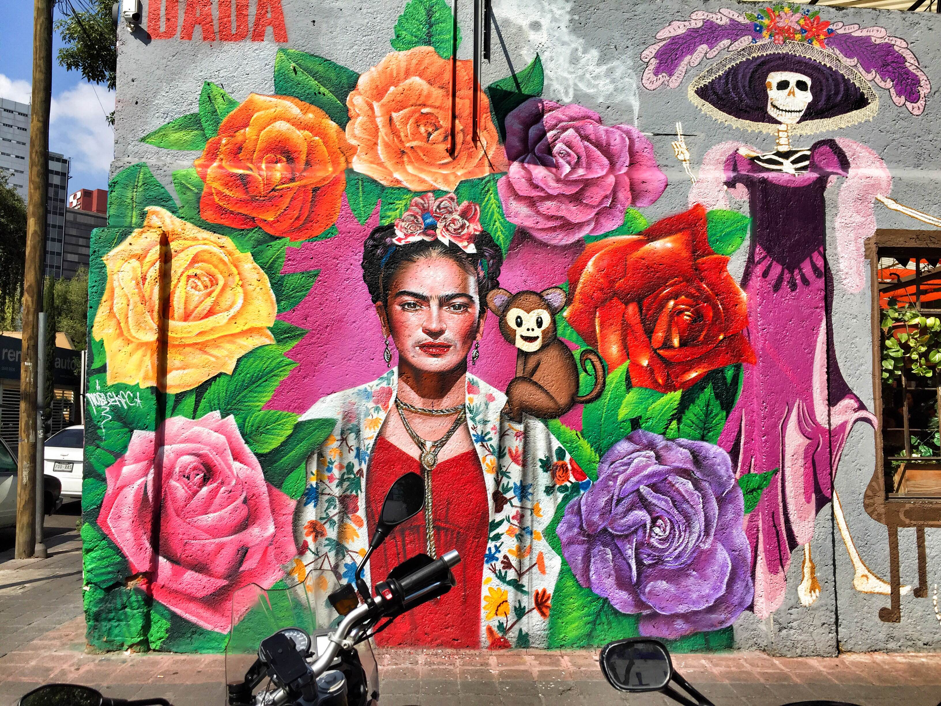 Frida Mural Mexico City