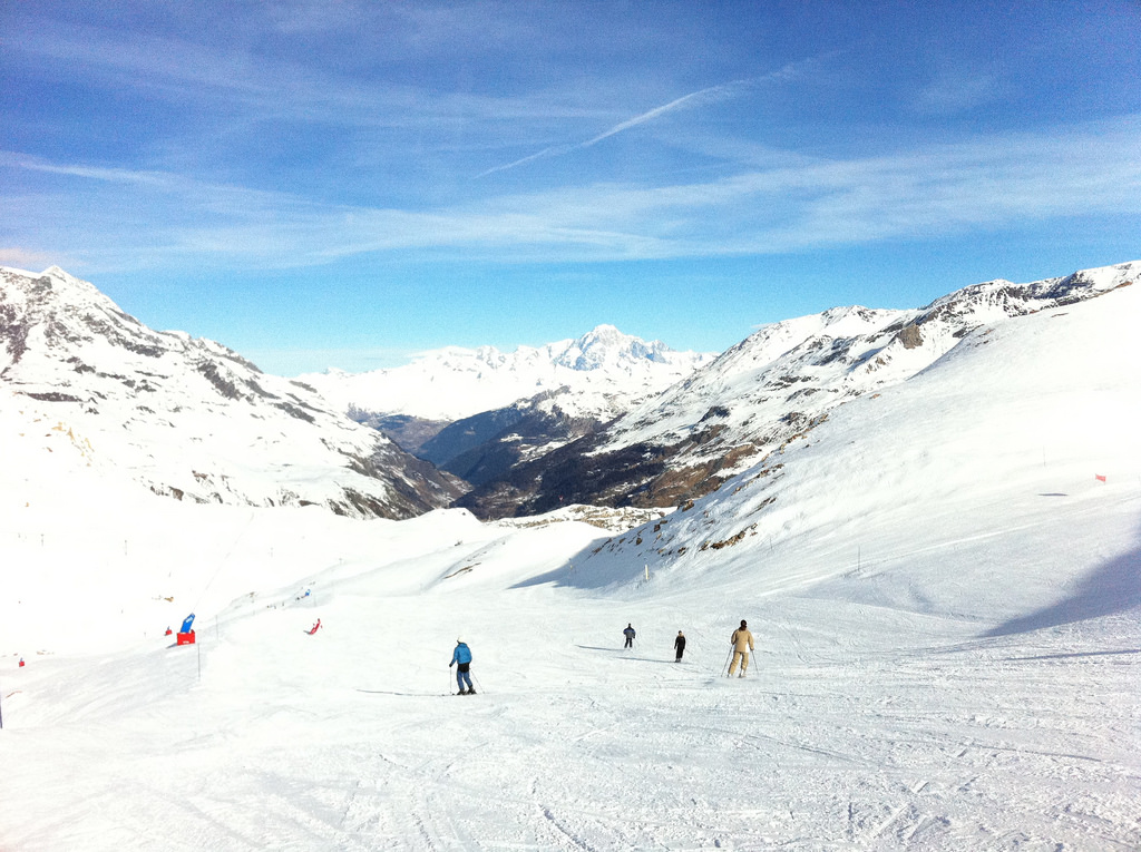Val d'Isere is among the top destinations for spring snowsports in France