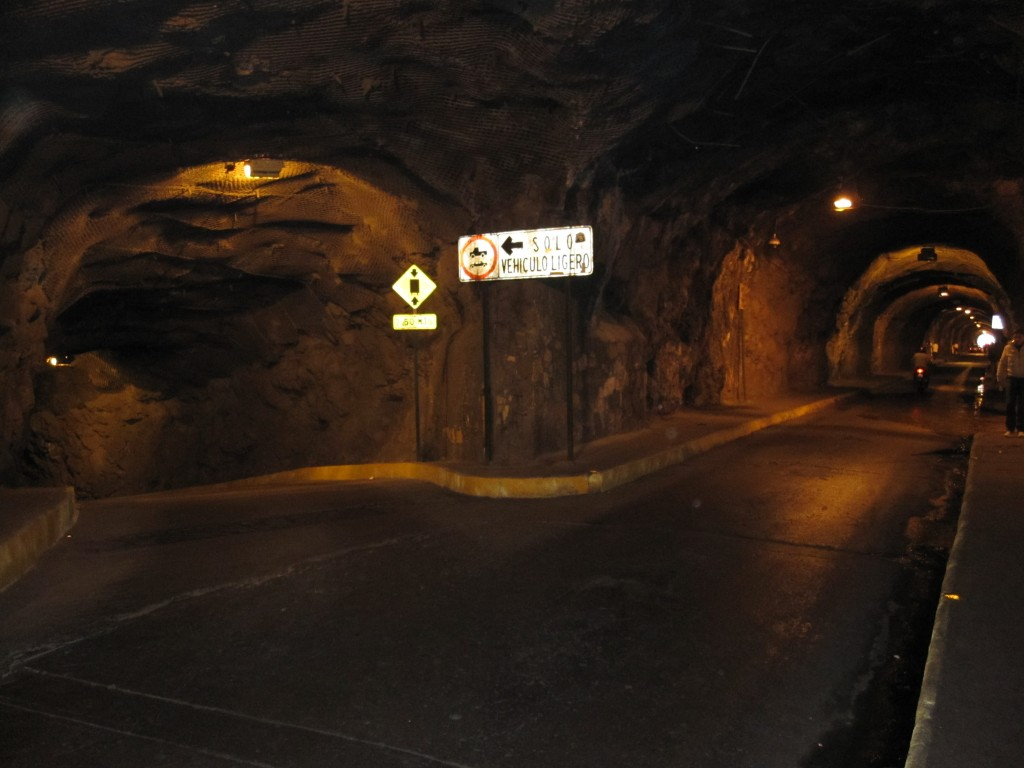 The roads under the Guanajuato