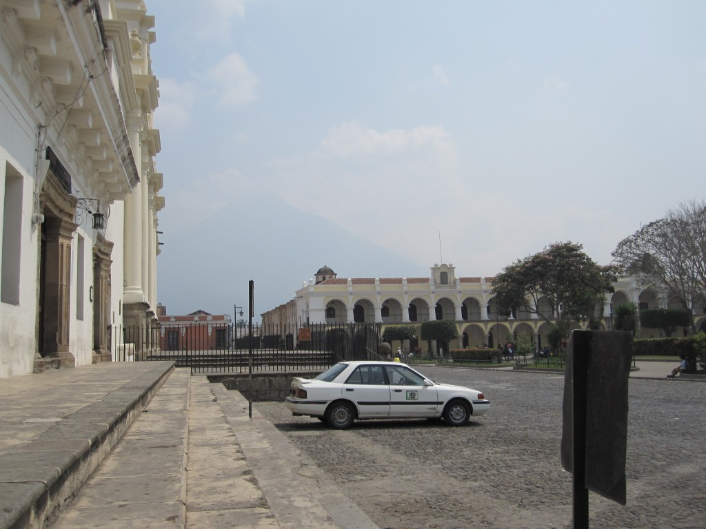 Main plaza in Antigua, Guatemala