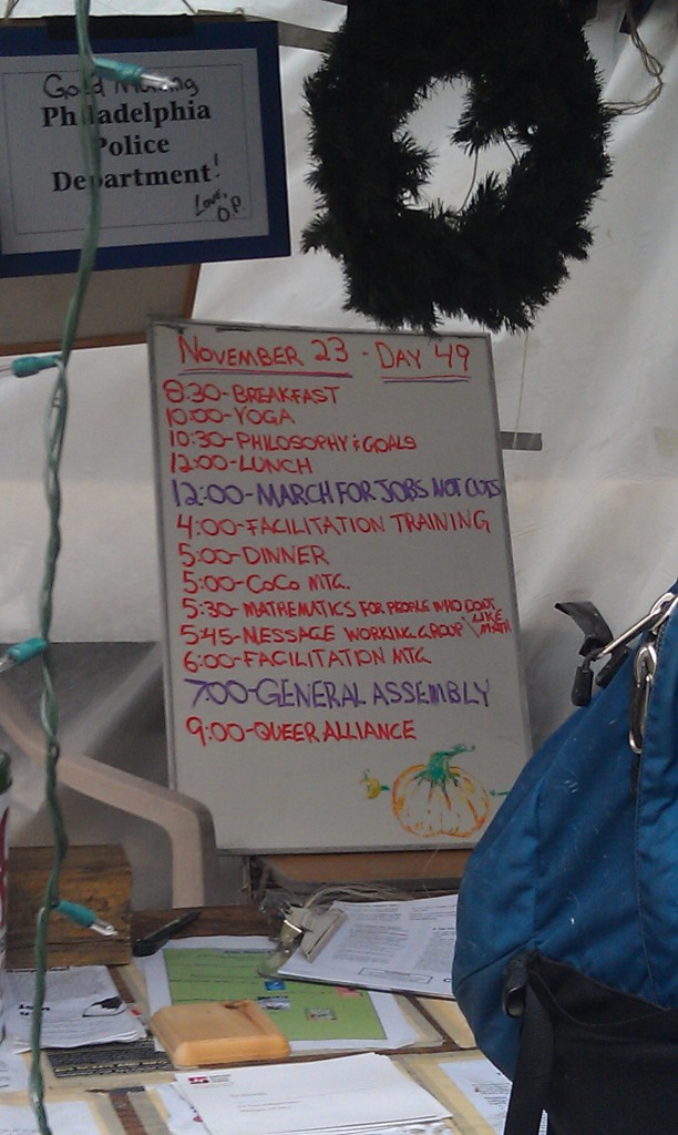 Agenda for Occupy Philadelphia
