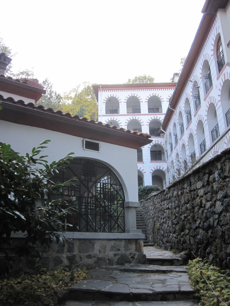 Outside view of Dragalevtsi Monastery