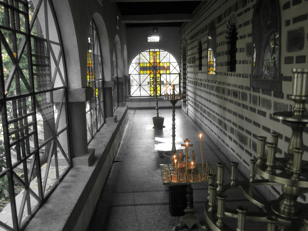 What does Dragalevtsi Monastery look like on the inside?