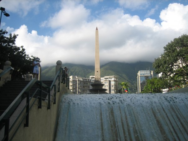 Plaza Altamira in downtown Caracas