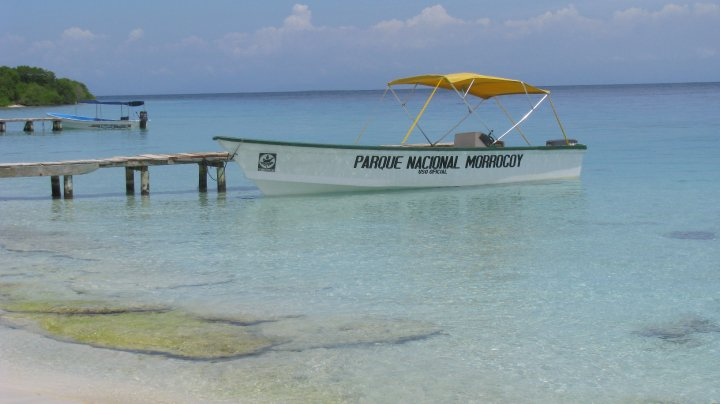 Boat rental in Morrocoy Venezuela