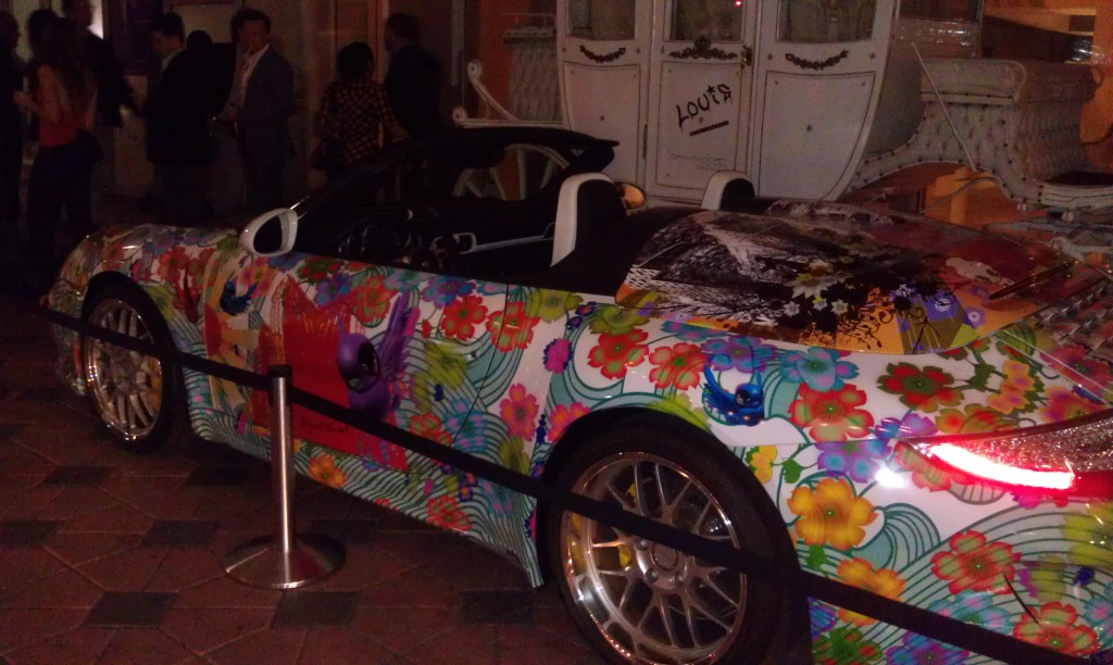 car wrap by Miguel Paredes