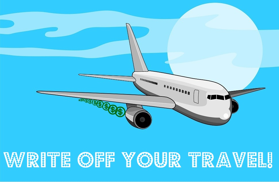 write off your travel expenses