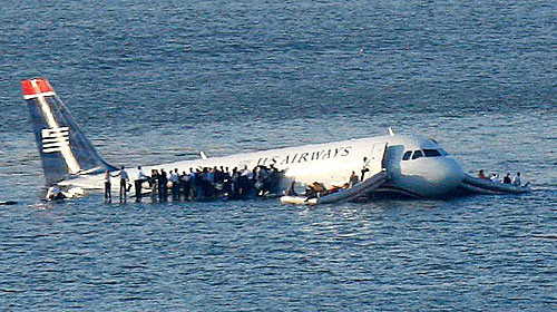 US Air Flight 1549 Plane Crash