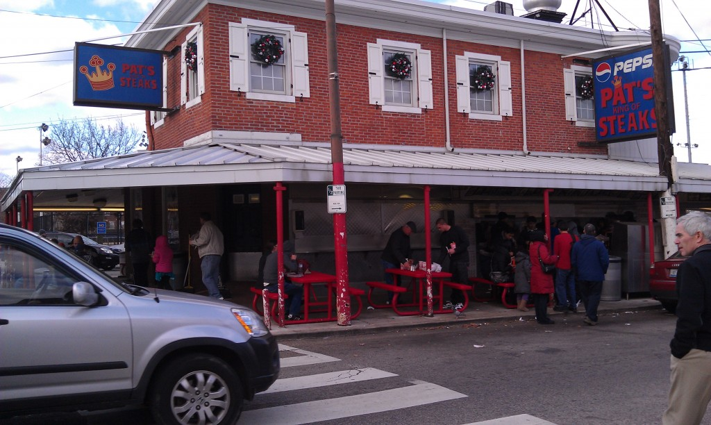 Pat's Steaks in South Philadelphia