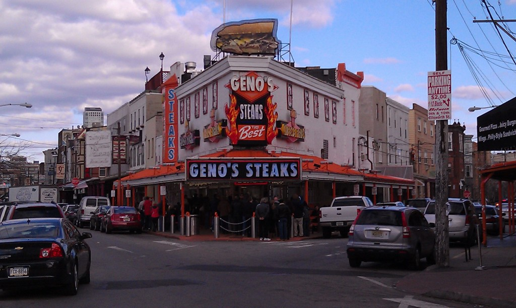 Geno's Steaks in Philly