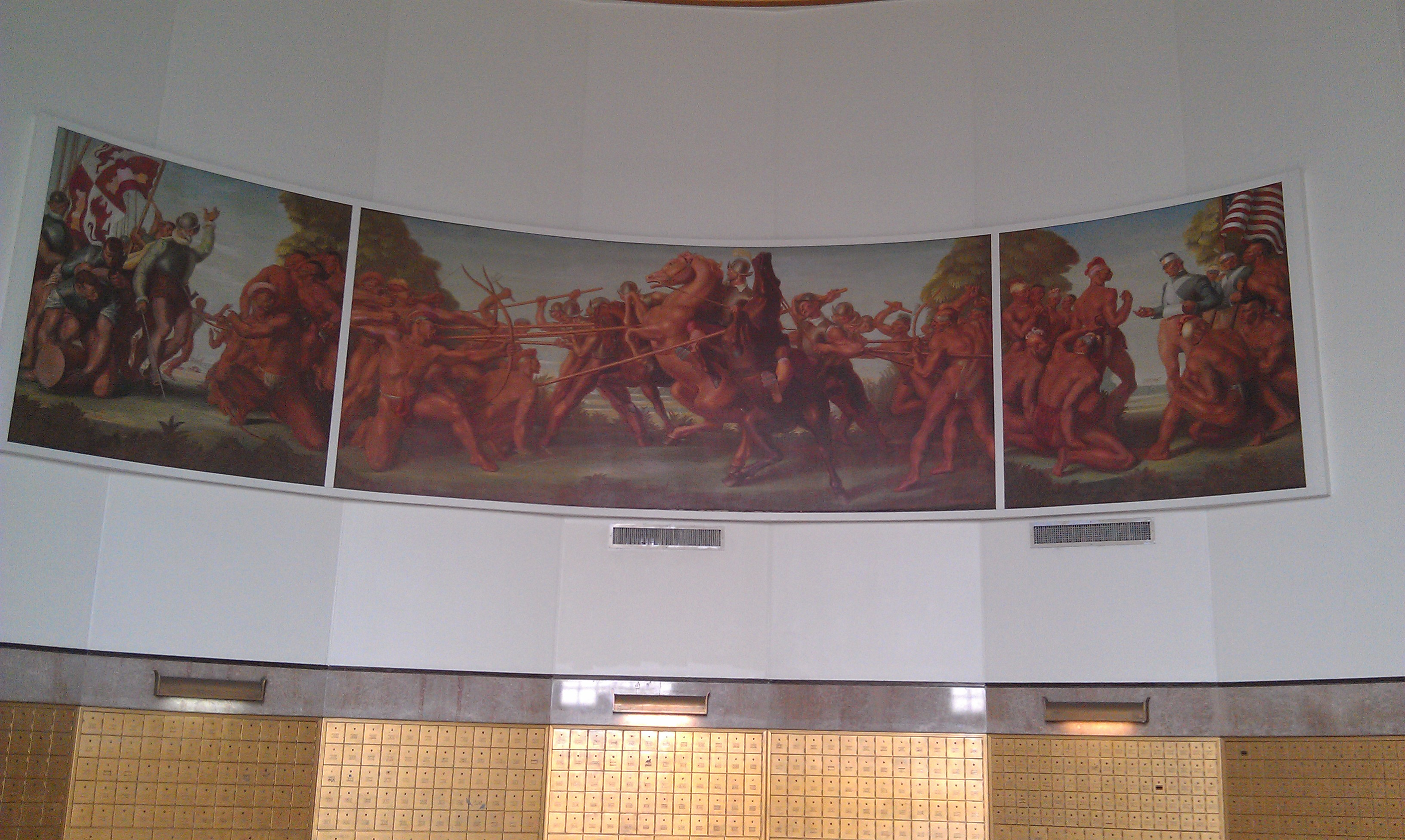 The Mural in the South Beach Post Office