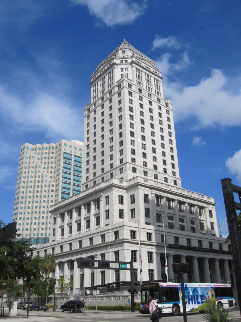 Miami Dad courthouse building