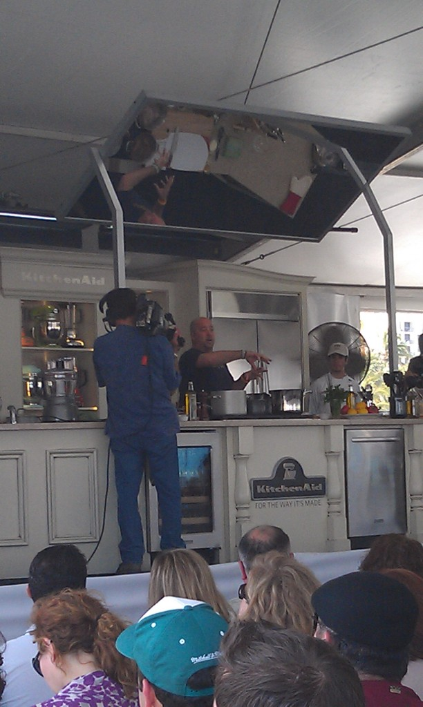 Andrew Zimmern at SoBe WFF 2012