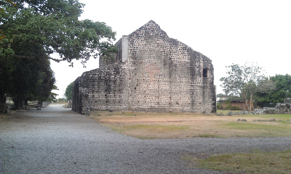 Panama Viejo, the original Spanish settlement of Panama City