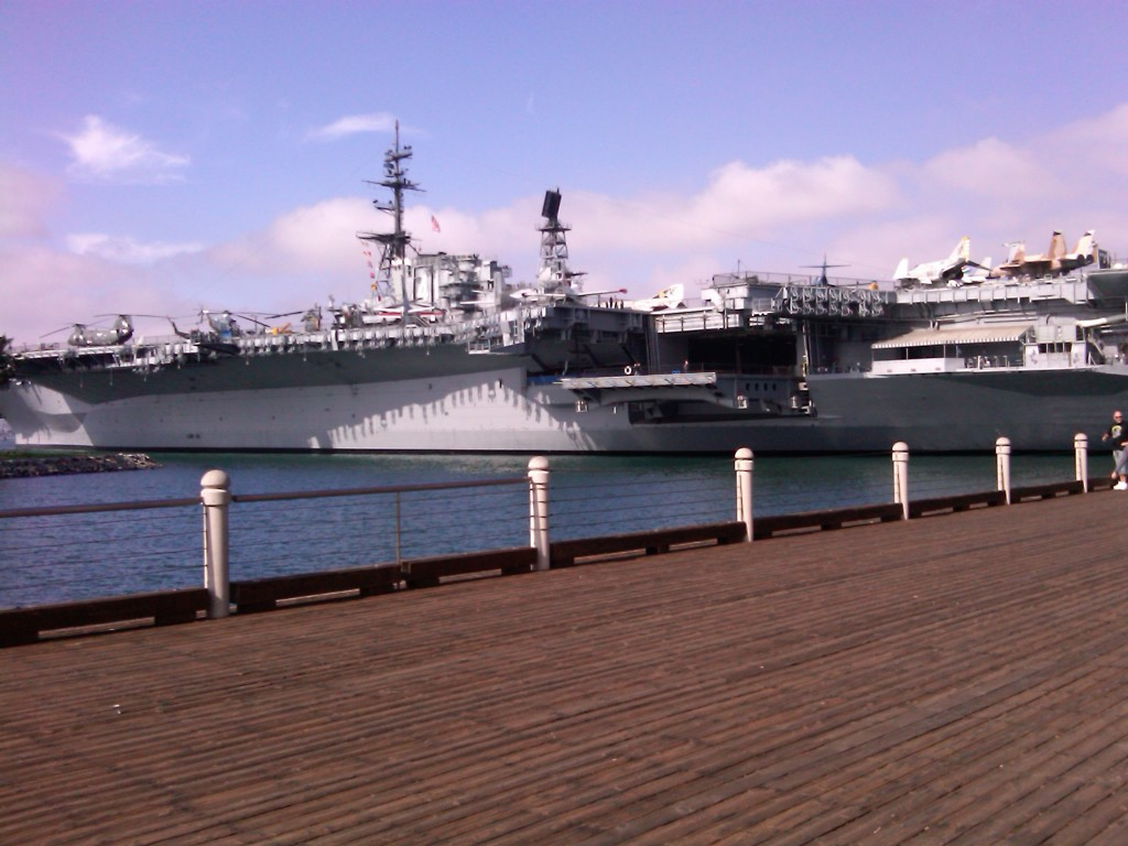 The Midway Battleship in San Diego, California