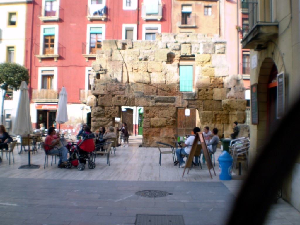 Roman Architecture throughout the streets of Tarragona