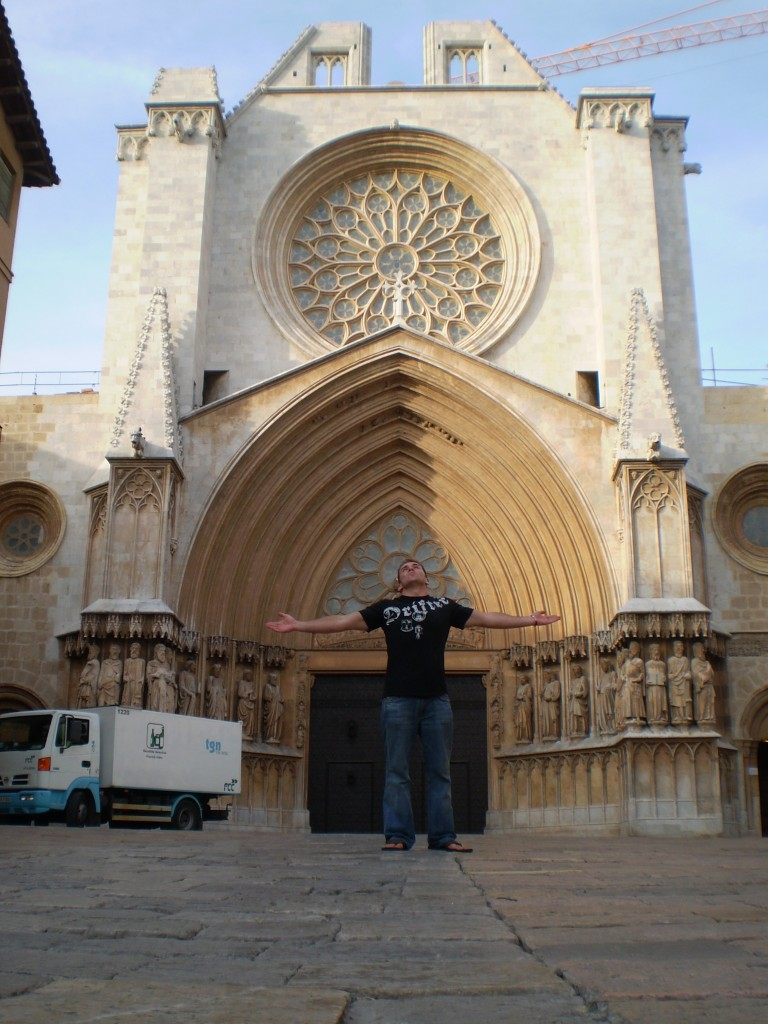 The main Cathedral in Tarragaona, Spain