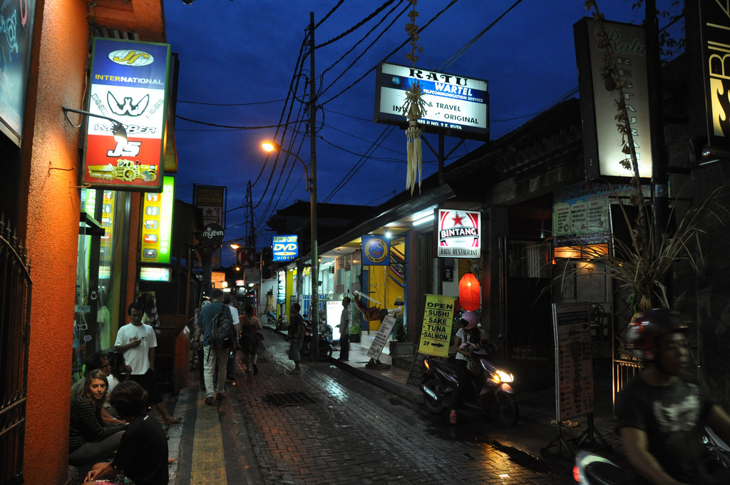 nightlife in Kuta