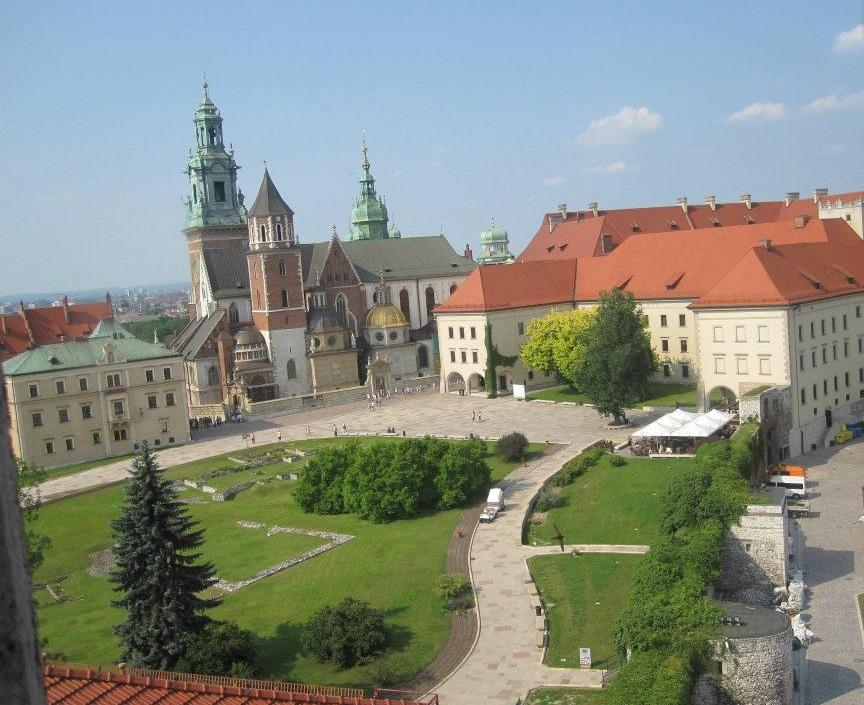 Architecture in Krakow