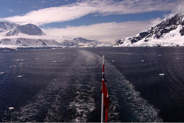Atlantis possible location on Artica