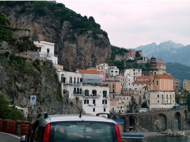 Small towns on the Amalfi Coast