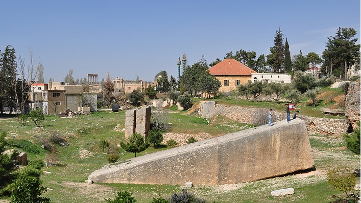 mysterious stones in Lebanon