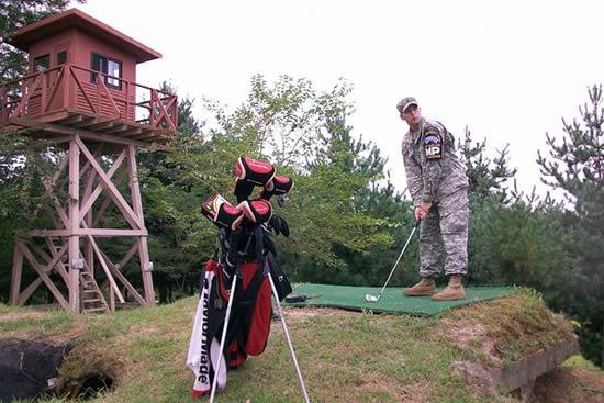 golfing in South Korea
