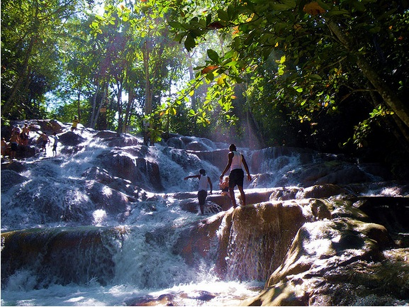 Waterfalls in Jamaica