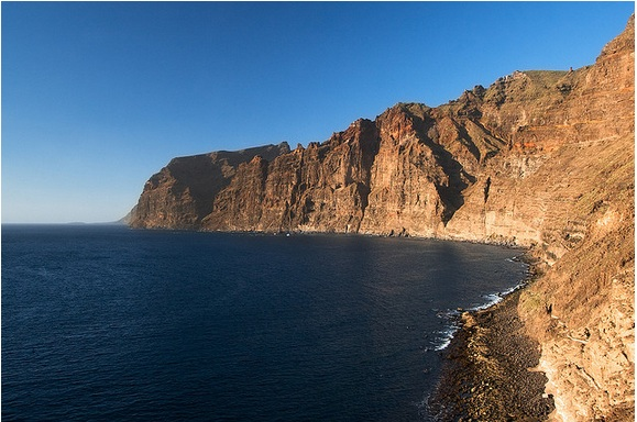Cliffs in Tenerife