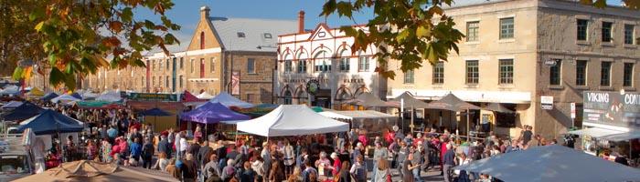 Downtown Hobart, Tasmania