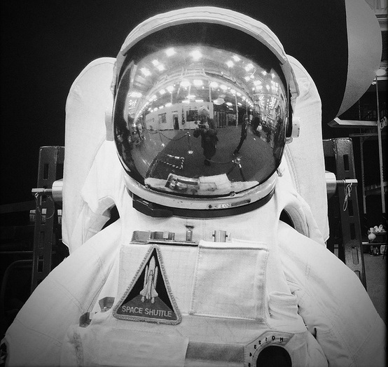Astronaut Space Suit at Johnson Space Center in Houston