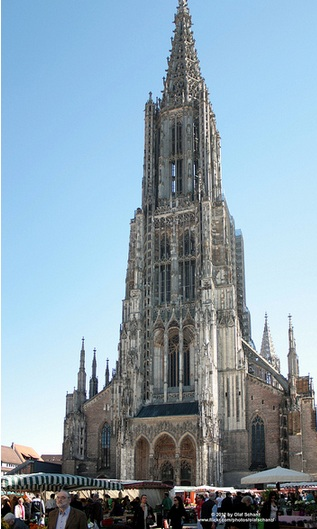 Facade of the biggest church in the world.