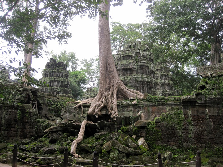 Temples in Siem Reap, Cambodia