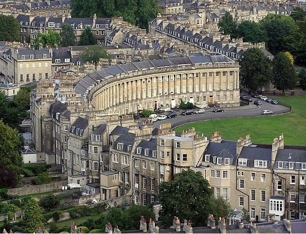 Georgian Architecture in Bath, England