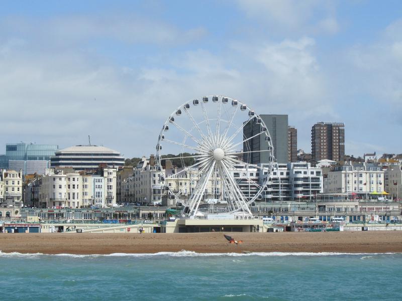 Brighton skyline