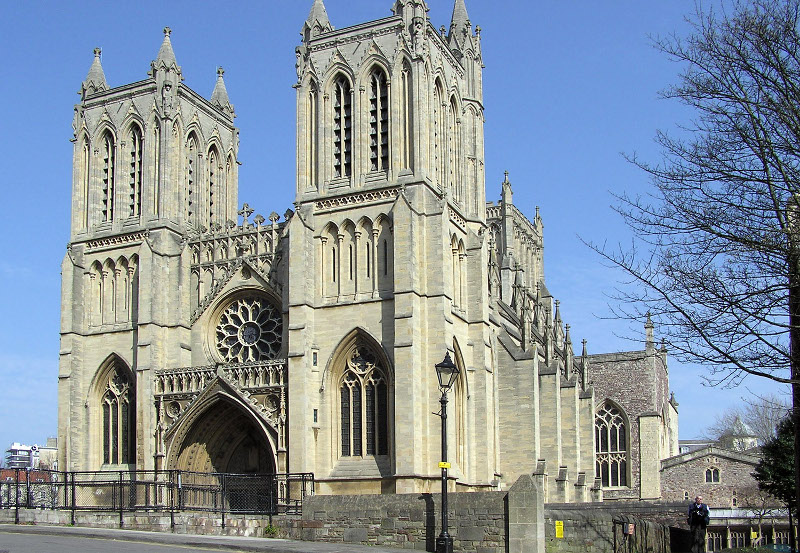 Cathedral in Bristol, England