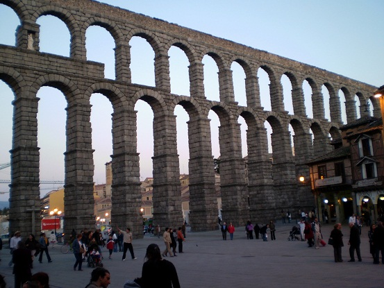 Roman acqeducts in Spain