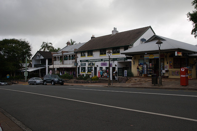 architecture in Montville, Australia